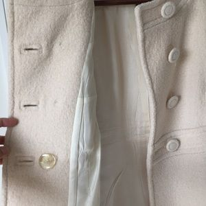 French Connection Wool Pea Coat.
